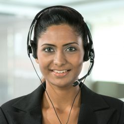 A dedicated multi-lingual receptionist at your chosen location – No call centres